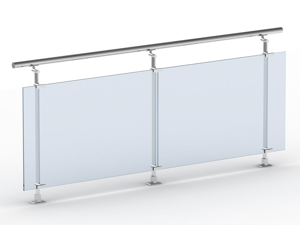Barandillas cristal mejores ideas sobre barandales de - Barandillas de cristal ...